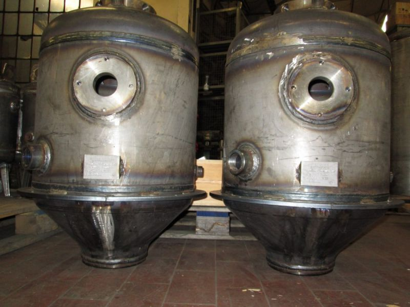 Vessels for SAW plant