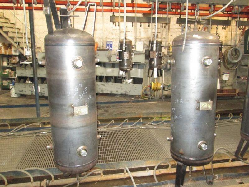 Serbatoi ASME, 100 lt., per montaggio orizzontale e verticale